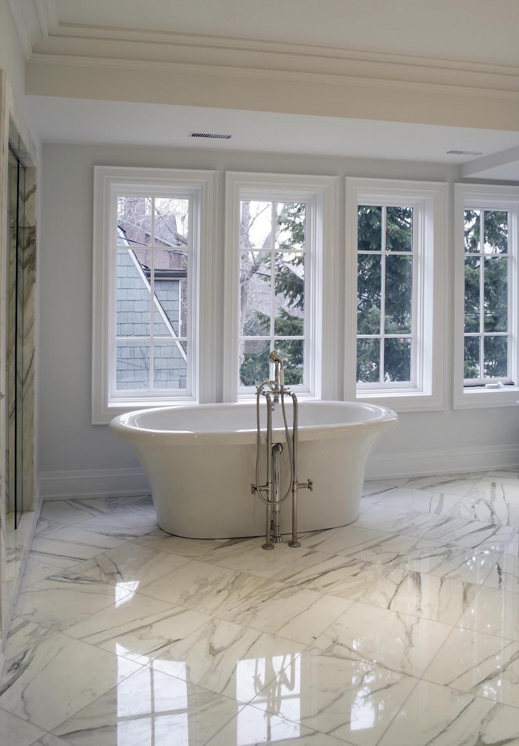 Cleaning Marble Floors In Bathroom